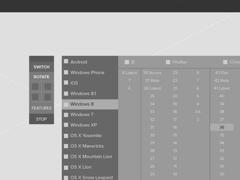 BrowserStack - Arun Pattnaik's UX Portfolio